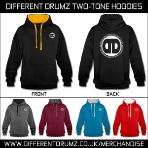 Different Drumz Two-Tone Hoodies 2020