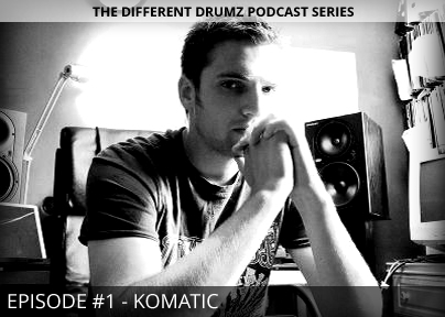 Komatic – Different Drumz Podcast Episode 1