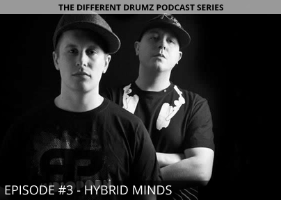 Hybrid Minds  – Different Drumz Podcast Episode 3