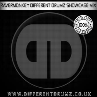 Ravermonkey DDz Showcase Mix Cover