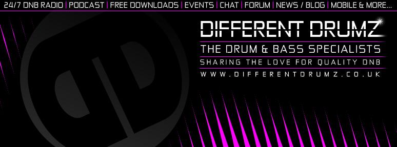 Different Drumz D&B Radio Facebook Cover Image