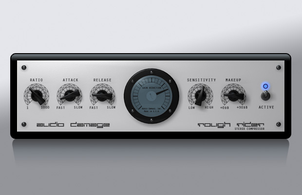 Audio Damage | Rough Rider – Free VST Plugin