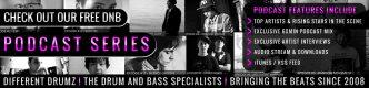 Different Drumz Free Drum & Bass Podcast Series