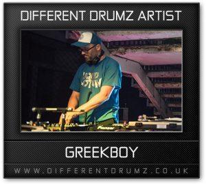 Greekboy Different Drumz Artist Image