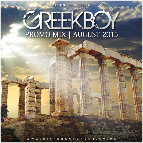 Greekboy Different Drumz Promo Mix Aug 2015