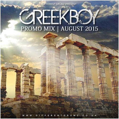 Greekboy Promo Mix Aug 2015