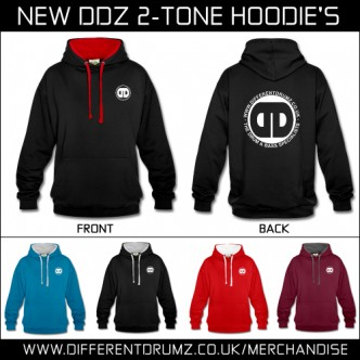 New Different Drumz Headphone Hoodie Collection