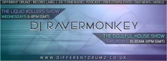 DJ Ravermonkey on Different Drumz Radio