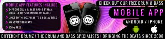 Free Drum & Bass Mobile App for Android & iPhone