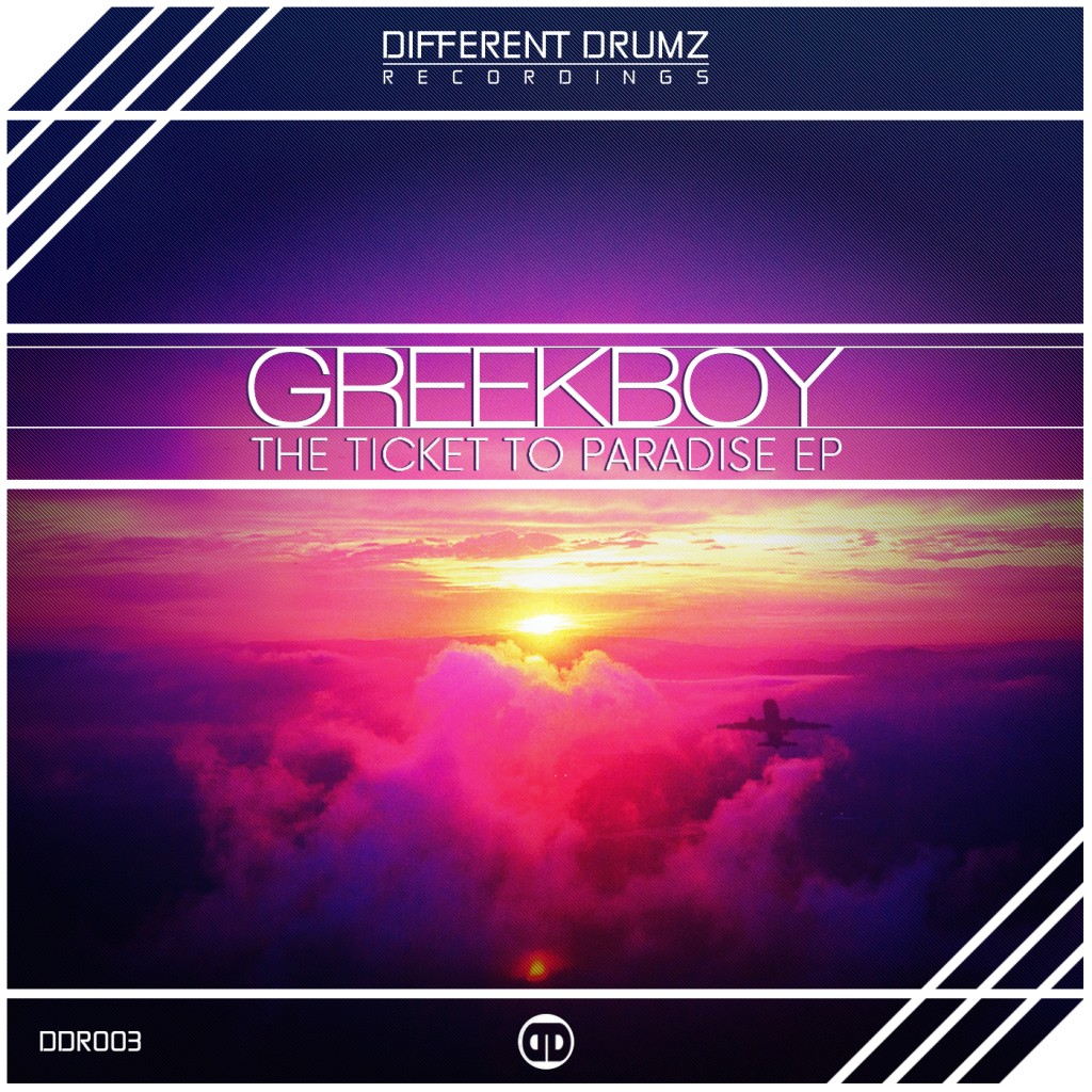 Greekboy – The Ticket To Paradise EP   DDR003 (Out Now)