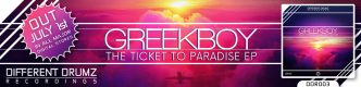 Greekboy - The Ticket To Paradise EP | DDR003