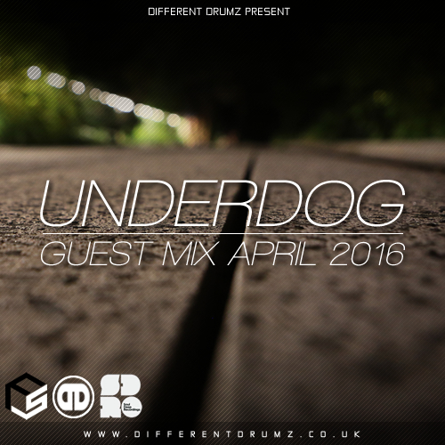 Underdog Different Drumz Guest Mix April 2016