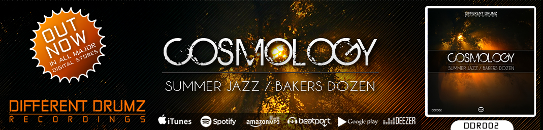 Cosmology - Summer Jazz / Bakers Dozen | DDR002 | Out Now!