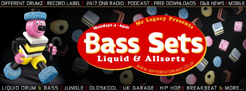 Mr Legacy - Bass Sets | Liquid & Allsorts