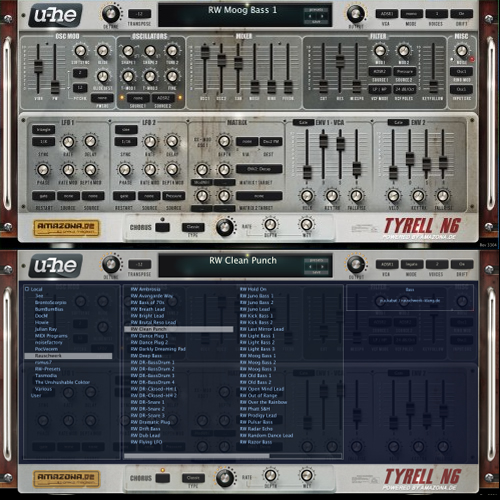 Tyrell Nexus 6 Synthesizer – Free VST Plugin