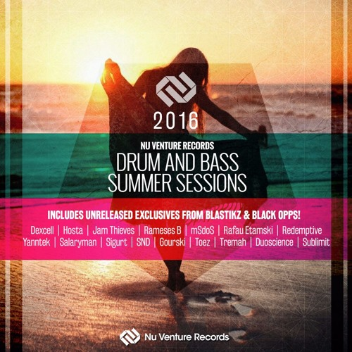Nu Venture Records | Drum & Bass Summer Sessions 2016 Promo Mix by DJ Davine