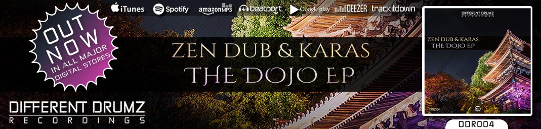 *OUT NOW* Zen Dub & Karas - The Dojo EP [DDR004]