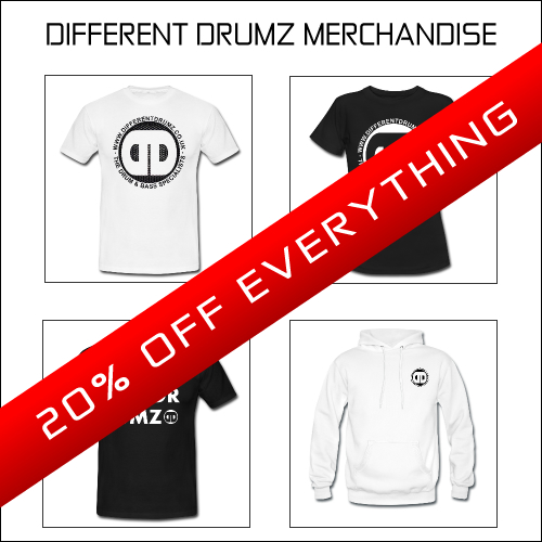 Different Drumz 20% Off Everything October Sale