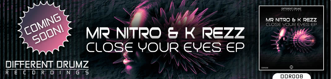 Mr Nitro & K Rezz - Close Your Eyes EP | DDR008 - Coming Soon