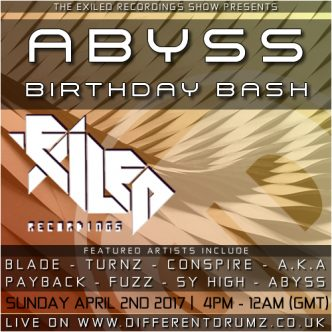 Exiled Recordings Show - Abyss Birthday Special