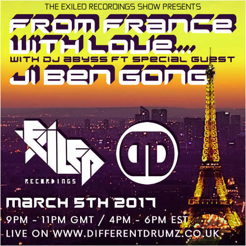Exiled Recordings Show ft Ji Ben Gong Guest Mix