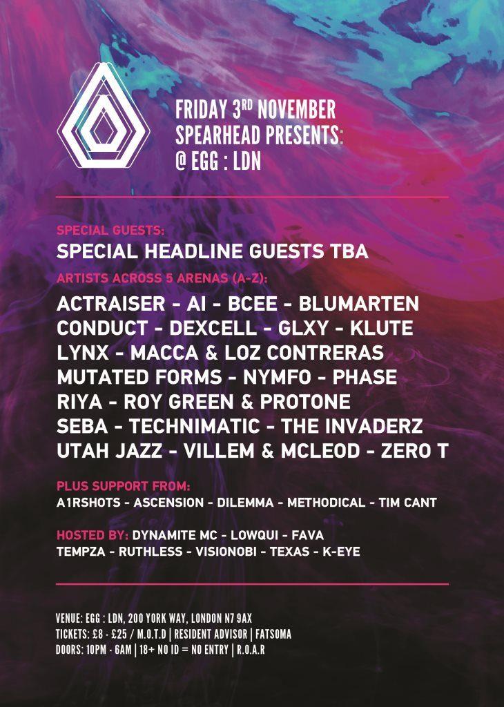Spearhead Presents EGG:LDN