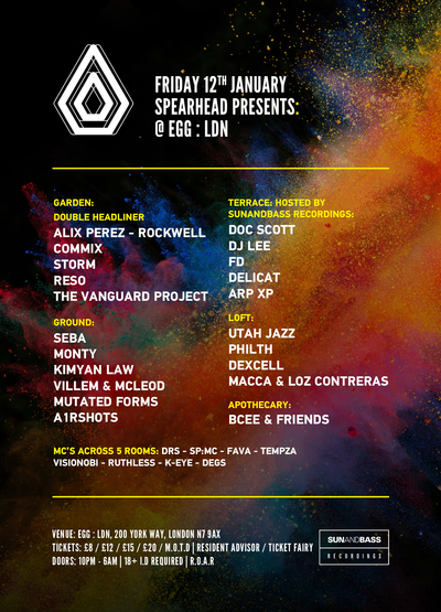 Spearhead Presents - EGG LDN