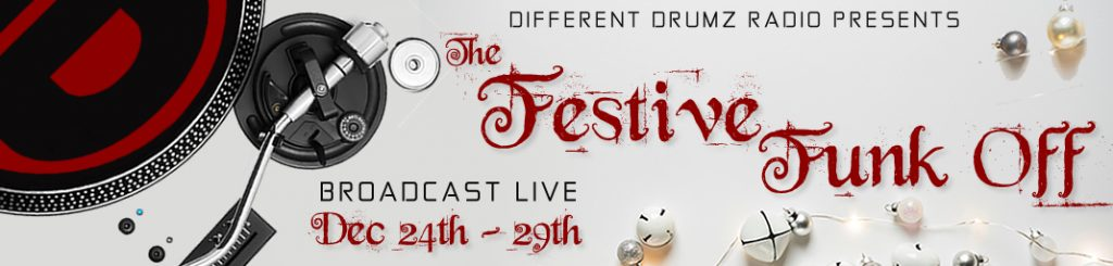 The Different Drumz Festive Funk Off 2017 (Stream & Download)