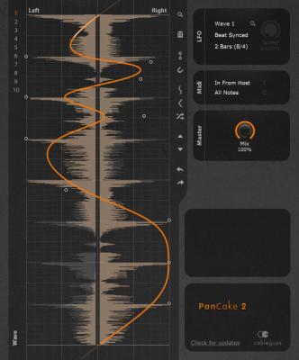 Pancake2 - Free Panning Modulation VST