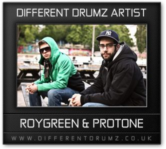 RoyGreen & Protone Different Drumz Artist Image