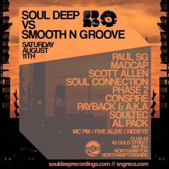 Soul Deep Vs Smooth N Groove Event