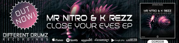 Mr Nitro & K Rezz - Close Your Eyes EP   DDR008 - Out Now