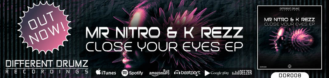 Mr Nitro & K Rezz - Close Your Eyes EP | DDR008 - Out Now