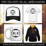 Free Delivery - Different Drumz Merchandise