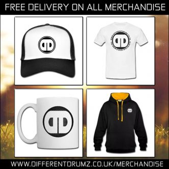 Free Delivery - Different Drumz Merchandise