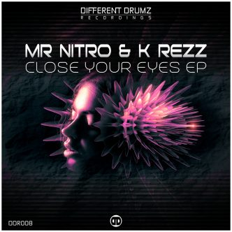 Mr Nitro & K Rezz - Close Your Eyes EP [DDR008] Cover Art