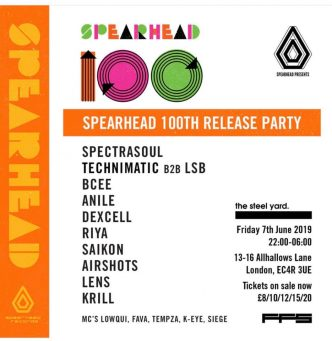 Spearhead 100th Release Party