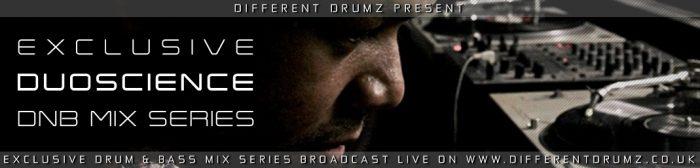 Duoscience Exclusive DnB Mix Series Live on Different Drumz Radio