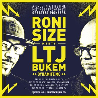 Roni Size & LTJ Bukem UK Tour
