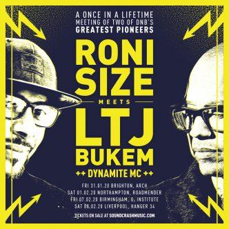 Roni Size & LTJ Bukem UK Tour