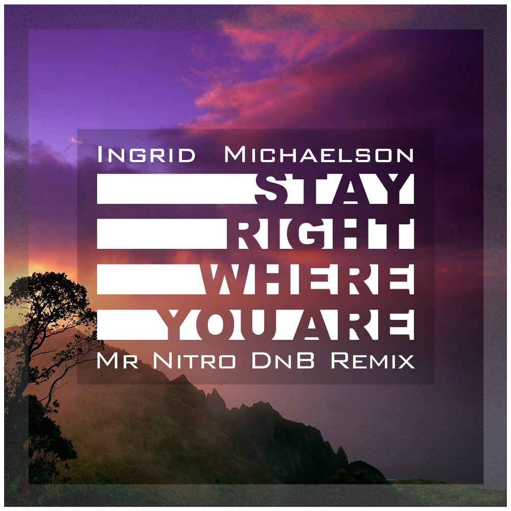 Ingrid Michaelson – Stay Right Where You Are (Mr Nitro DnB Remix) | Free Download
