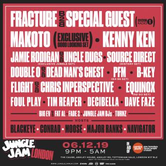Jungle Jam X-Mas Event London