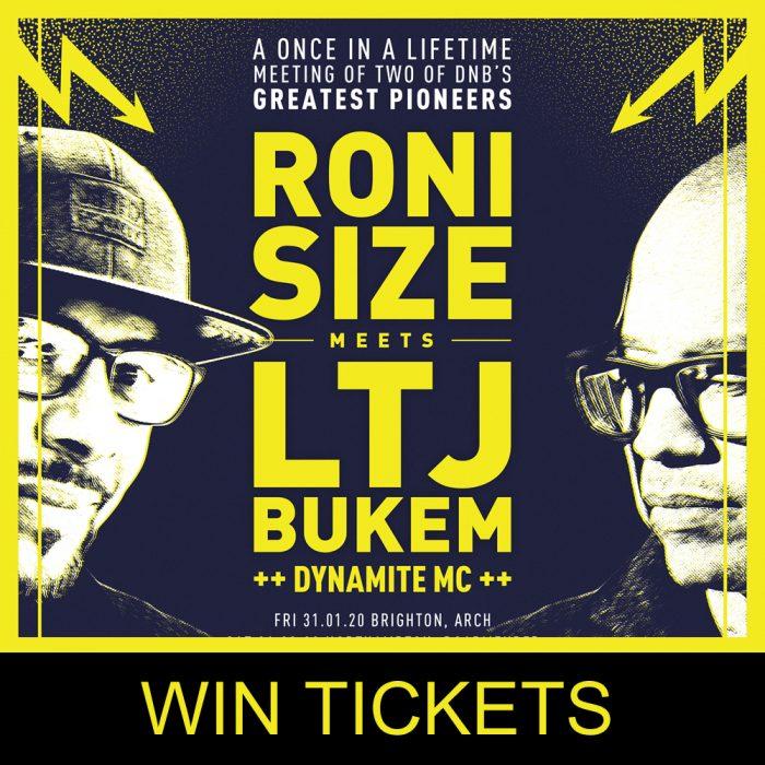 Roni Size & LTJ Bukem Different Drumz Ticket Giveaway