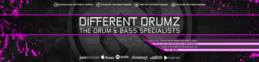 Different Drumz - Liquid Drum & Bass Radio / Liquid DnB Record Label / DnB Blog / Free DnB Mix Downloads