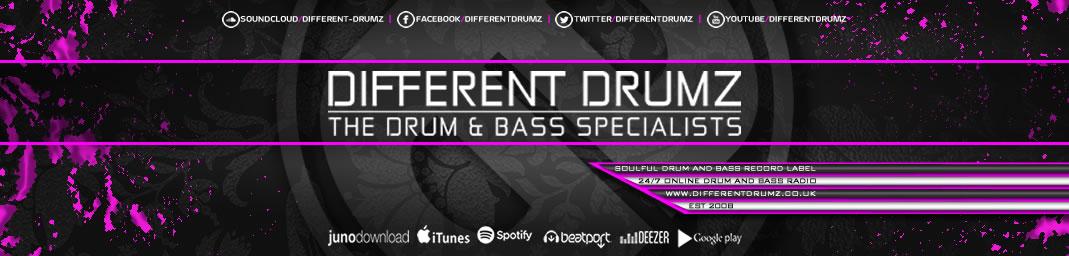 Different Drumz - Liquid Drum & Bass Radio / Liquid DnB Record Label / DnB Blog / Free DnB Mix Downloads