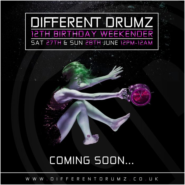 Different Drumz 12th Birthday Weekender