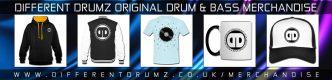 Different Drumz Drum & Bass Merchandise