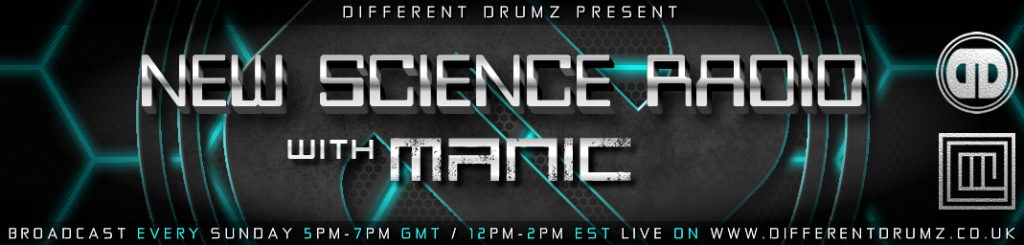 New Science Radio with Manic Live on Different Drumz (Stream & Download)