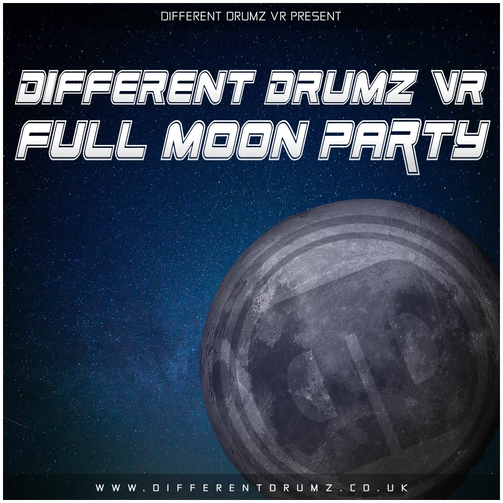 DDVR Full Moon Party (27,02,21) Event Mixes (Stream & Download)